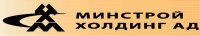 Лого на МИНСТРОЙ ХОЛДИНГ